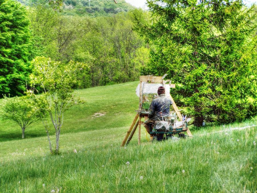 One Mans Art... Photograph