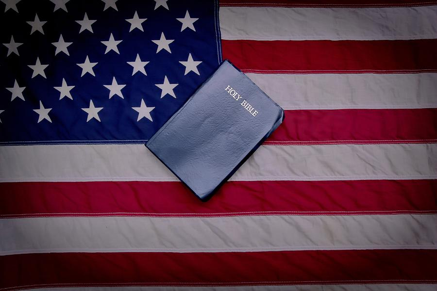 One Nation Under God Photograph  - One Nation Under God Fine Art Print