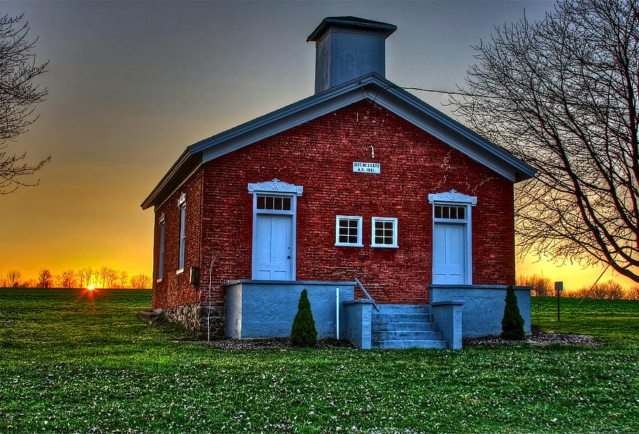 When Was The One Room School House In America