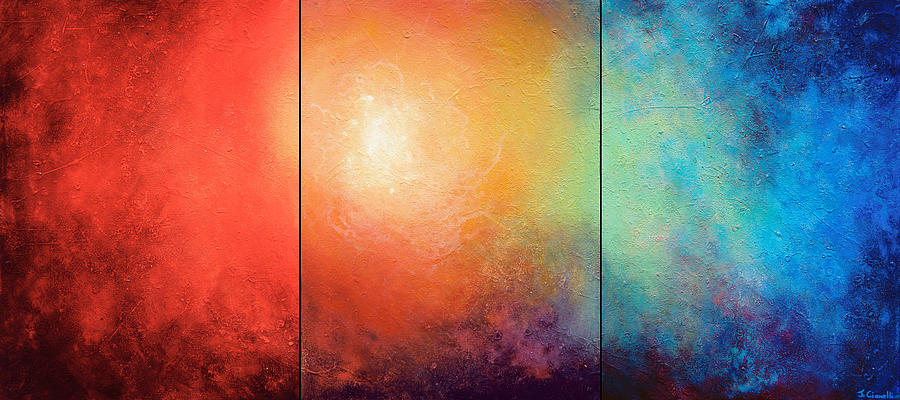 Abstract Painting - One Verse by Jaison Cianelli