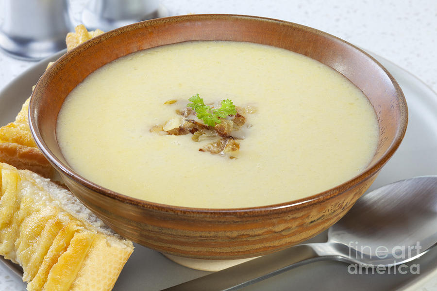 Soup Photograph - Onion Soup by Colin and Linda McKie