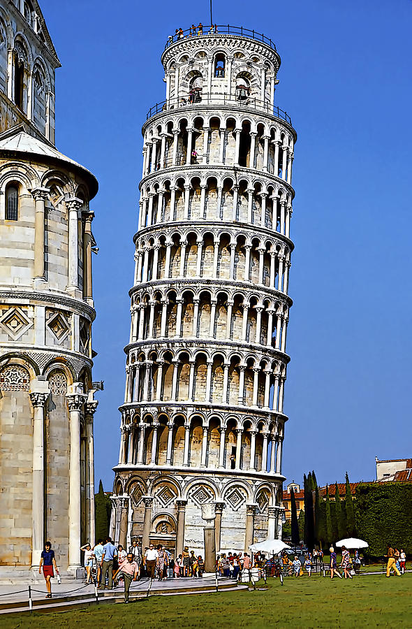 Tower Photograph - Oops by Steve Harrington