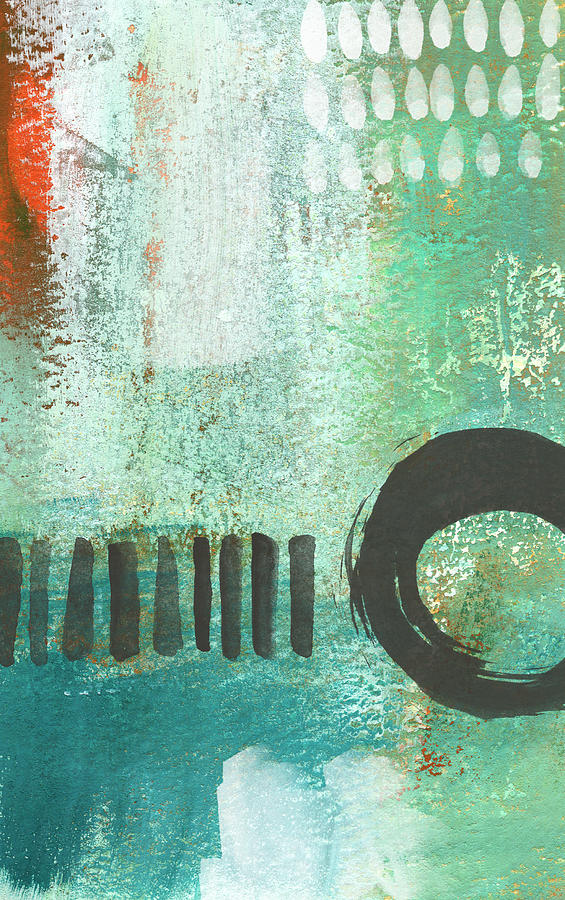 Open Gate- Contemporary Abstract Painting Painting