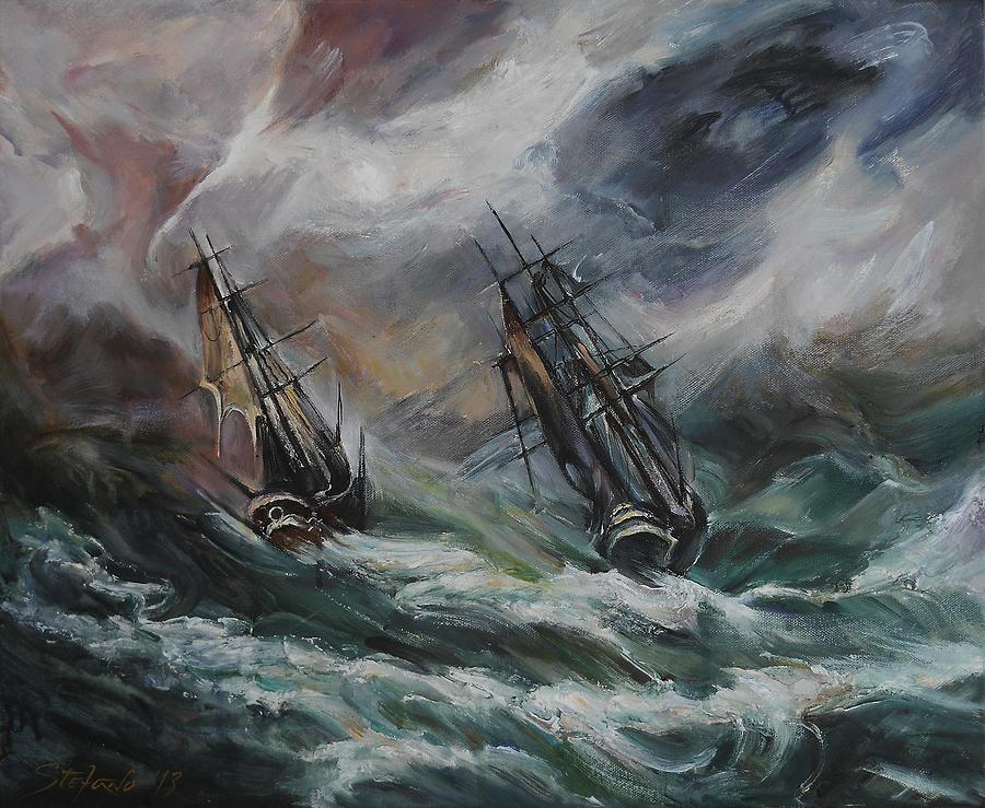 Open Sea - Dangerous Drift II Digital Art