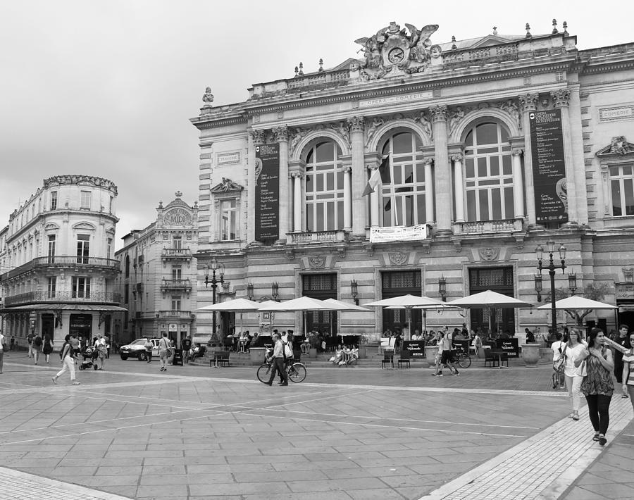 Opera House Place De La Comedie Montpellier France