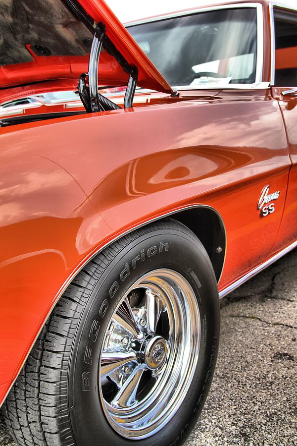 Orange Chevelle Ss 396 Photograph