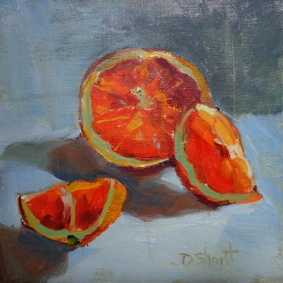 Orange Intense Painting