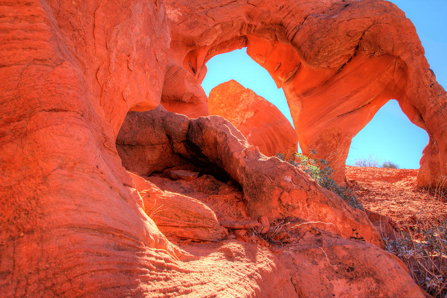 Orange Peel Arch Photograph