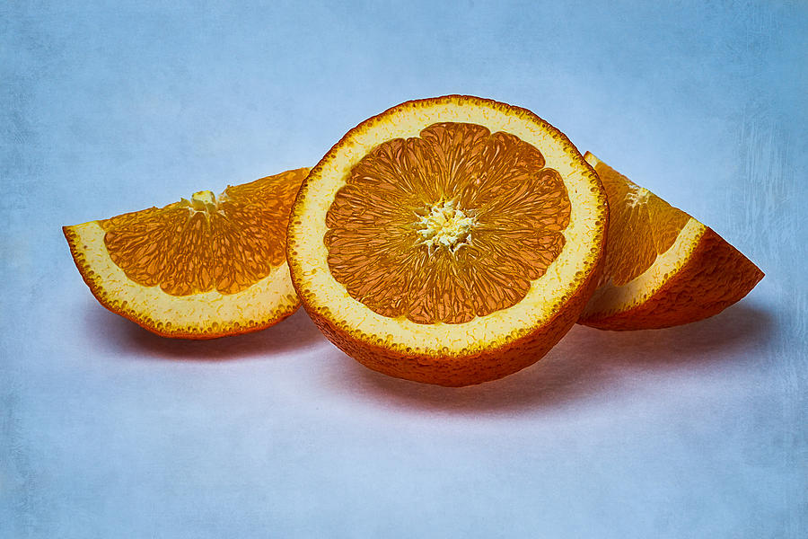 Orange Sliced Photograph  - Orange Sliced Fine Art Print