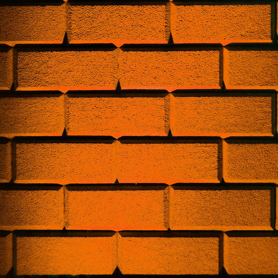 Orange Wall Photograph