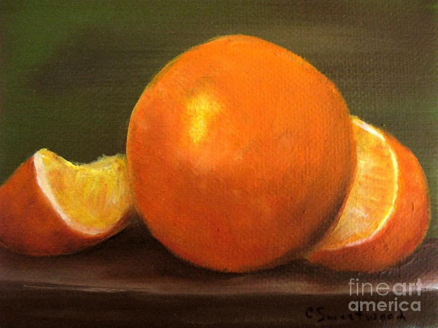Oranges Painting