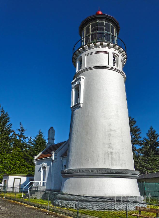 Oregon Coast Photograph - Oregon Coast - Light House by Gregory Dyer