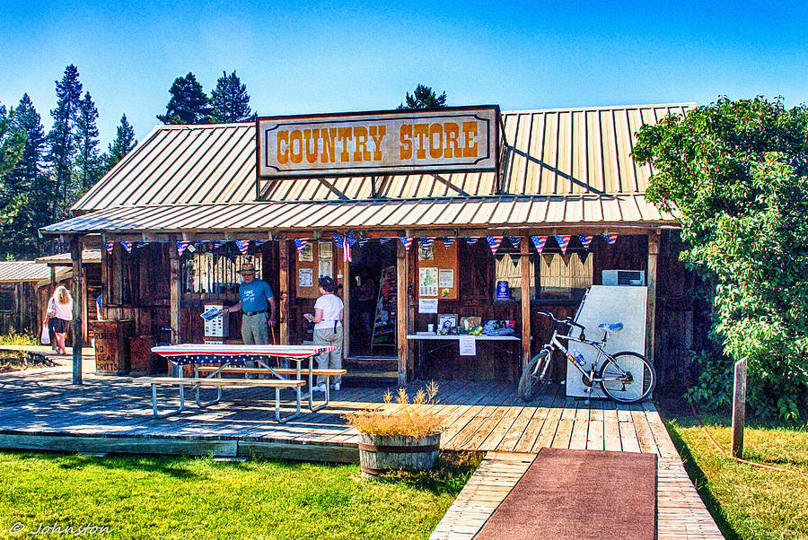 Oregon Country Store Photograph  - Oregon Country Store Fine Art Print