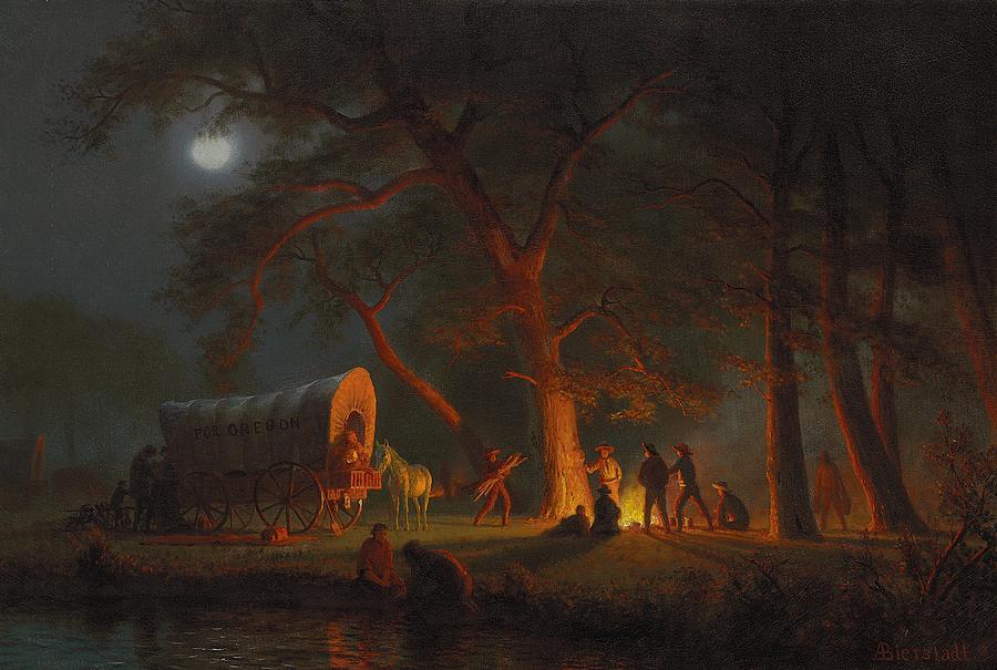 Oregon Trail Painting