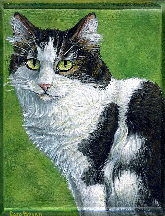 Oreo Painting - Oreo by Cara Bevan
