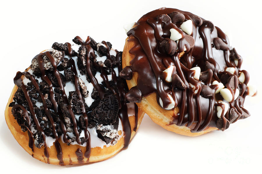 Oreo Cookie - Chocolate Chip - Donuts - Bakery Photograph