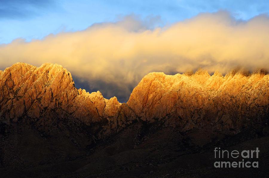 Organ Mountains Symphony Of Light Photograph
