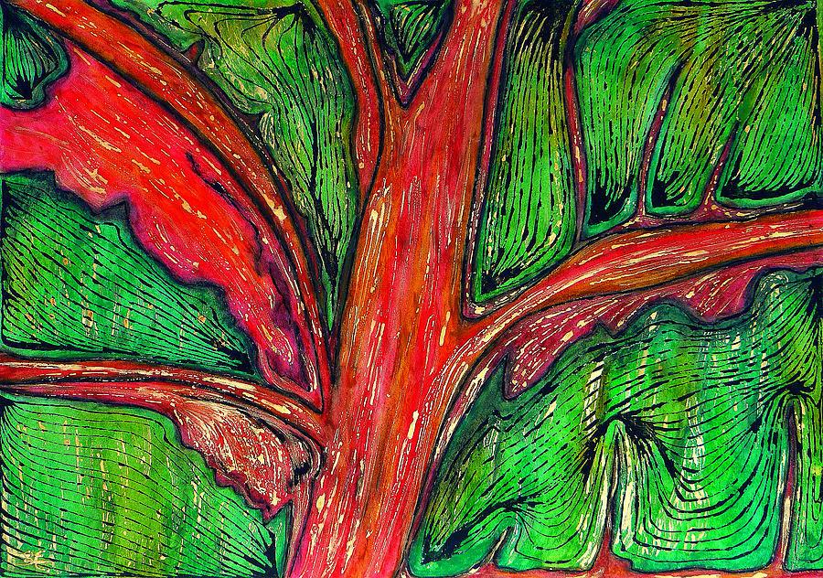 Organic Painting - Organic by Carla Sa Fernandes