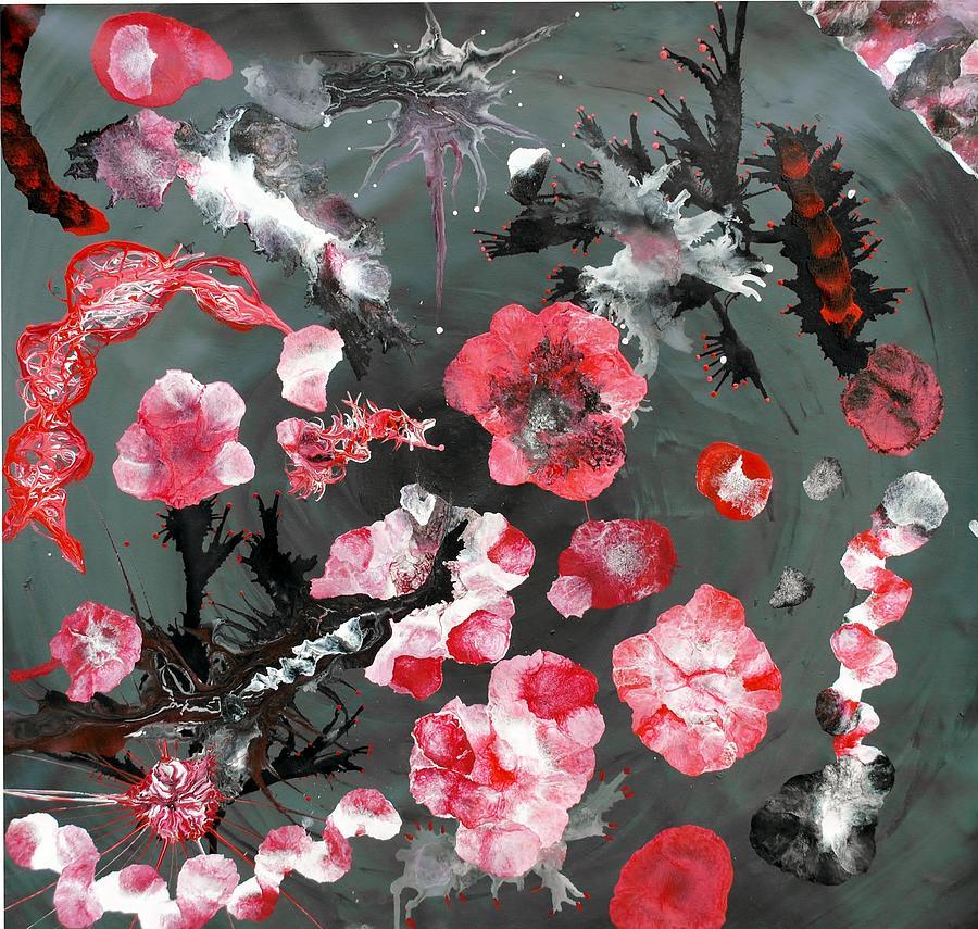 Oriental Painting - Oriem by Sumit Mehndiratta