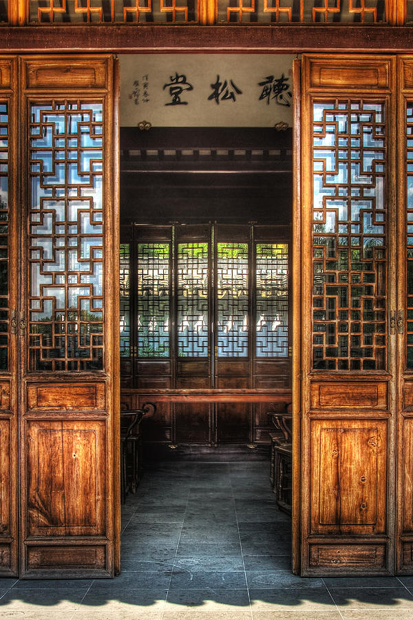 Orient - Door - The Temple Doors Photograph  - Orient - Door - The Temple Doors Fine Art Print