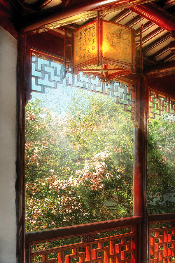 Orient - Lamp - Simply Chinese Photograph  - Orient - Lamp - Simply Chinese Fine Art Print