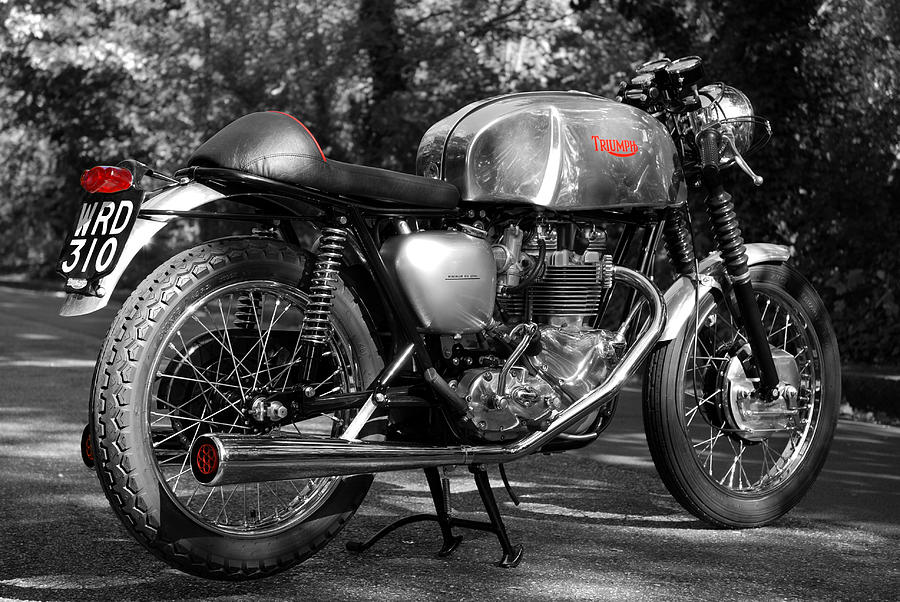 Original Cafe Racer Photograph  - Original Cafe Racer Fine Art Print