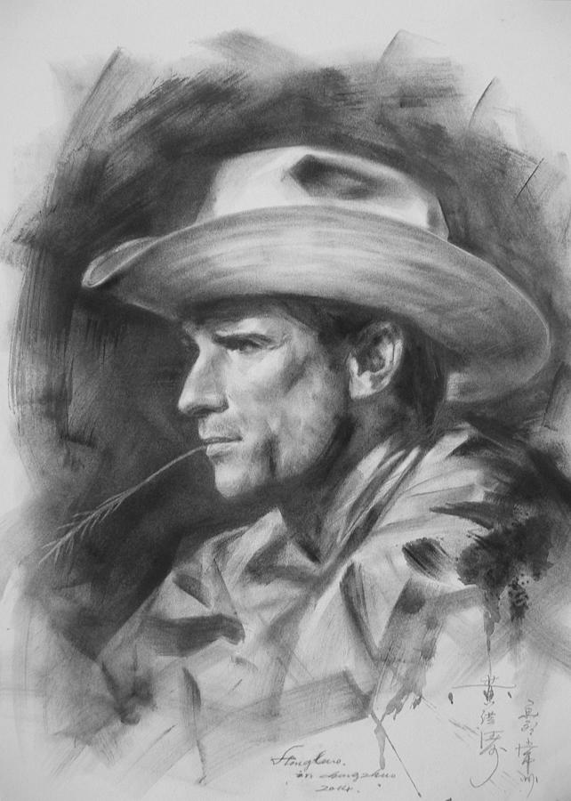 Cowboy sketch drawings - photo#8