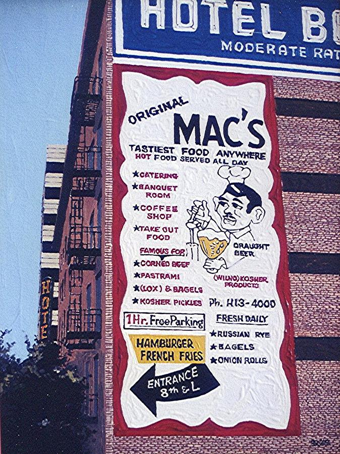 Sacramento Painting - Original Macs by Paul Guyer