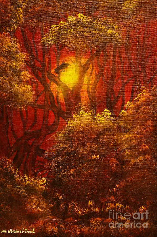 Original Sold-fairytale Forest- Private Collection- Buy Giclee Print Nr 41 Painting
