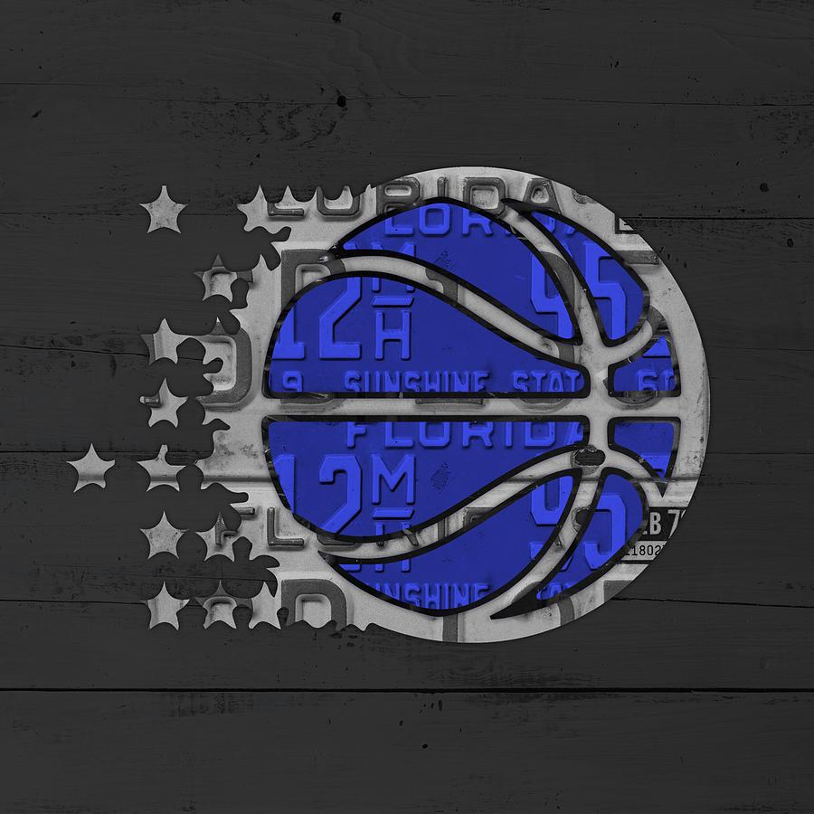 Orlando Magic Basketball Team Logo Vintage Recycled ...   900 x 900 jpeg 96kB