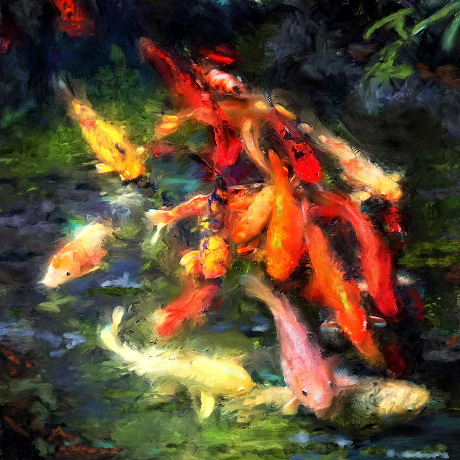 Ornamental Koi Photograph By Sandra Selle Rodriguez