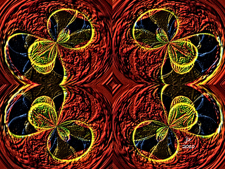 Ornamentals Digital Art by Janet Russell