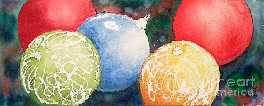 Ornaments Painting  - Ornaments Fine Art Print