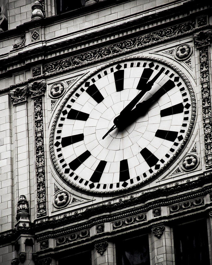 Ornate Time Photograph  - Ornate Time Fine Art Print