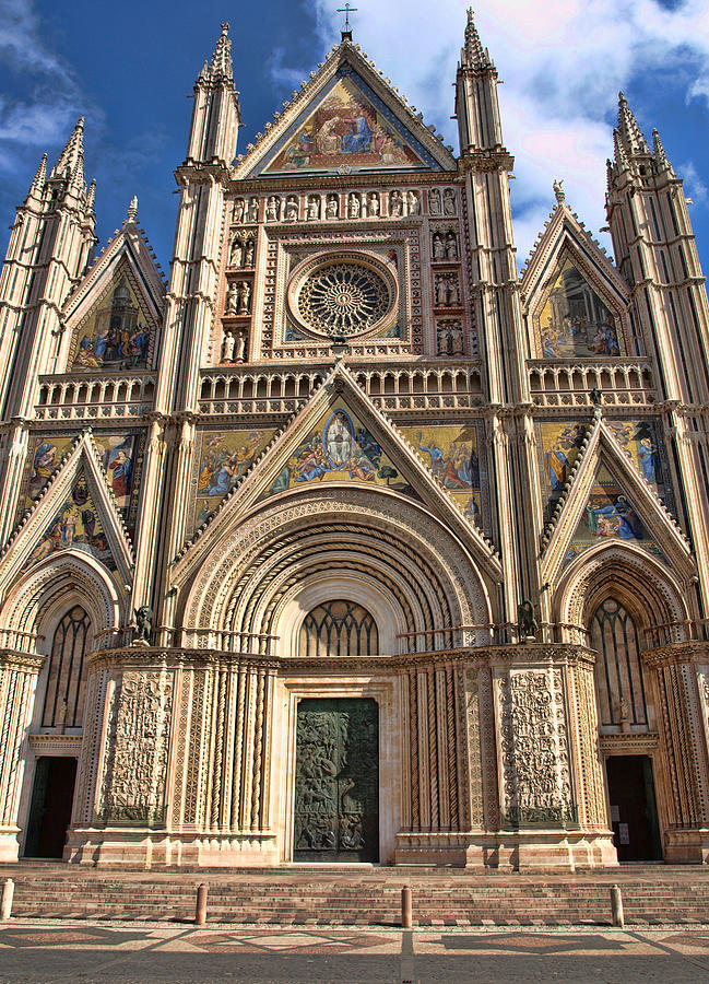 Orvieto Cathedral Photograph  - Orvieto Cathedral Fine Art Print