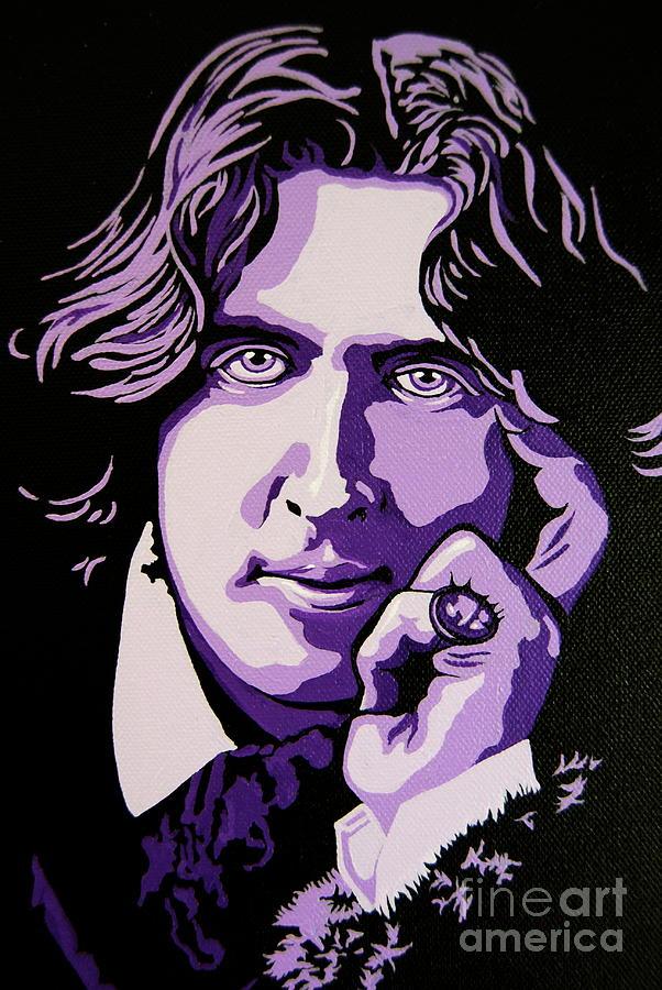 Oscar Wilde Painting