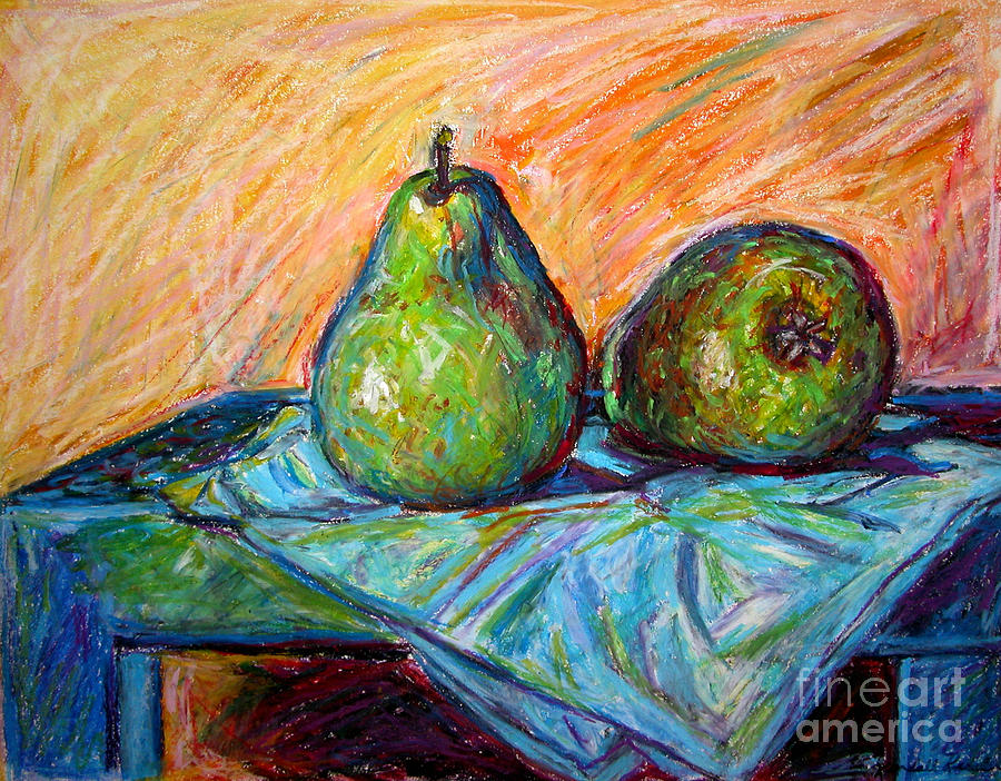 Other Pears Drawing  - Other Pears Fine Art Print