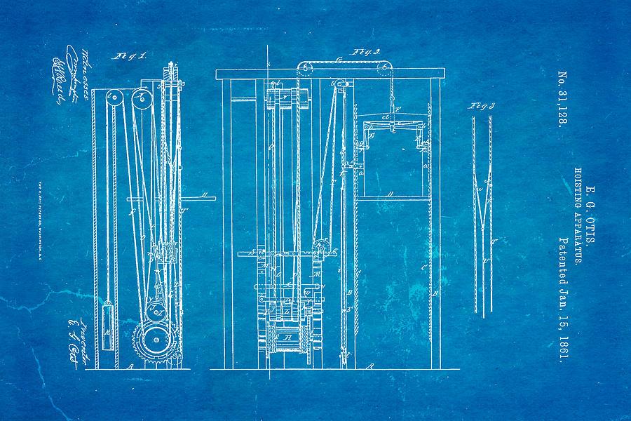 Otis Elevator Patent Art Blueprint Ian Monk on Charleston Dance Steps Diagram