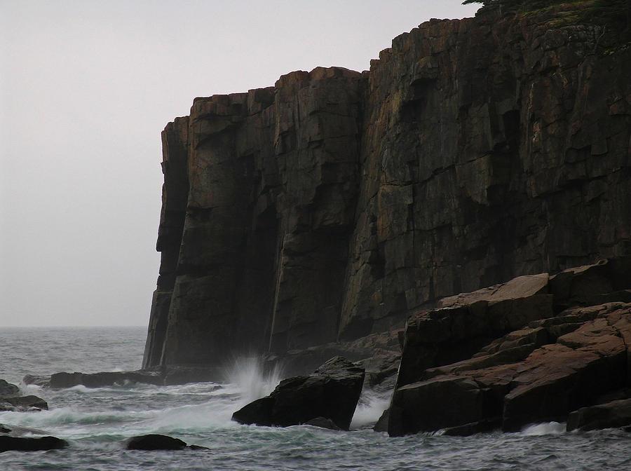 Otter Cliff Photograph
