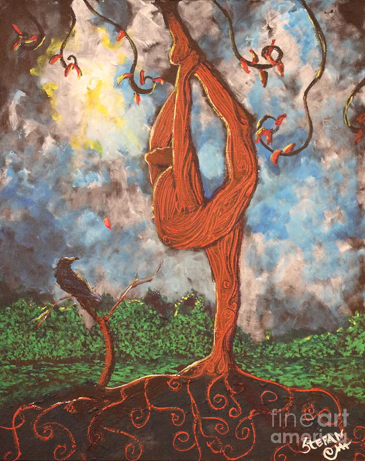 Our Dance With Nature Painting  - Our Dance With Nature Fine Art Print