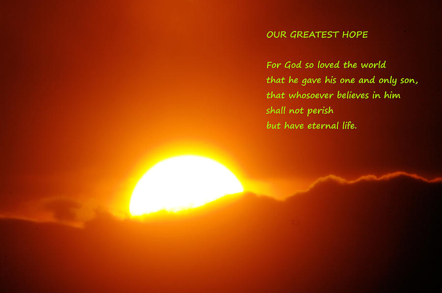Our Greatest Hope  Photograph  - Our Greatest Hope  Fine Art Print