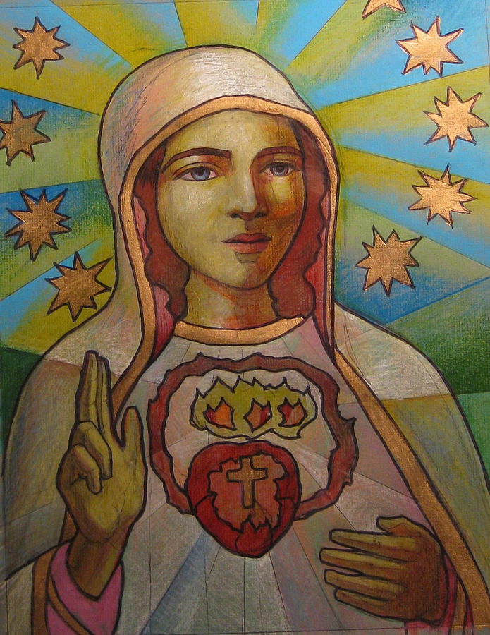Our Lady Of Fatima Drawing