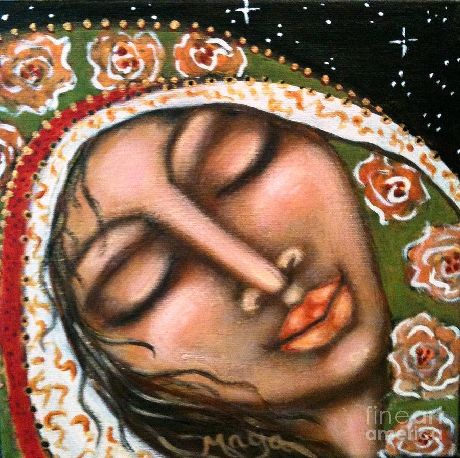 Our Lady Of Peace Painting