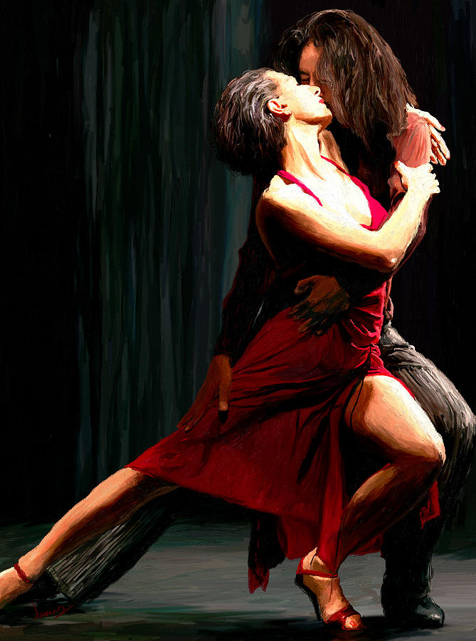 Our Tango Painting