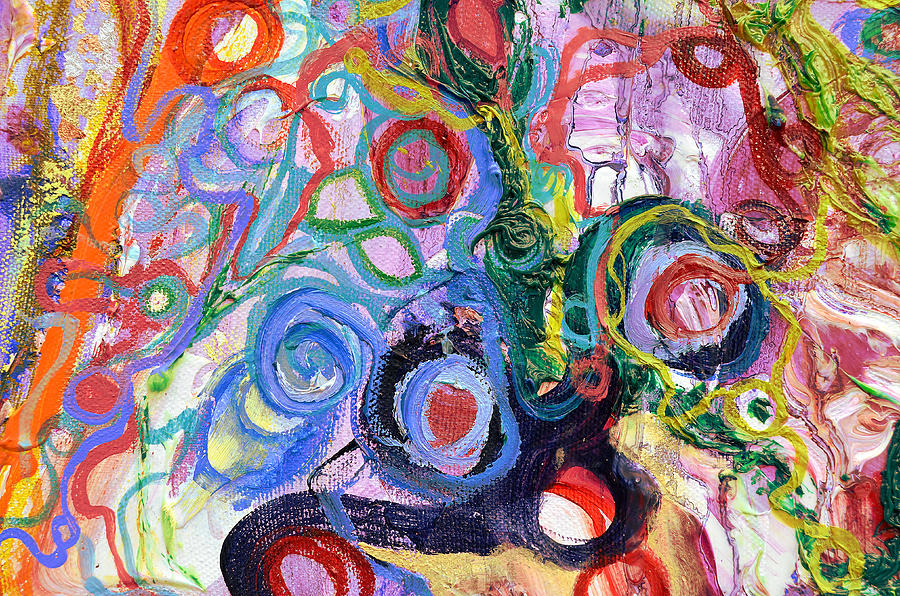 Out Of Balance Detail Area 2 Painting