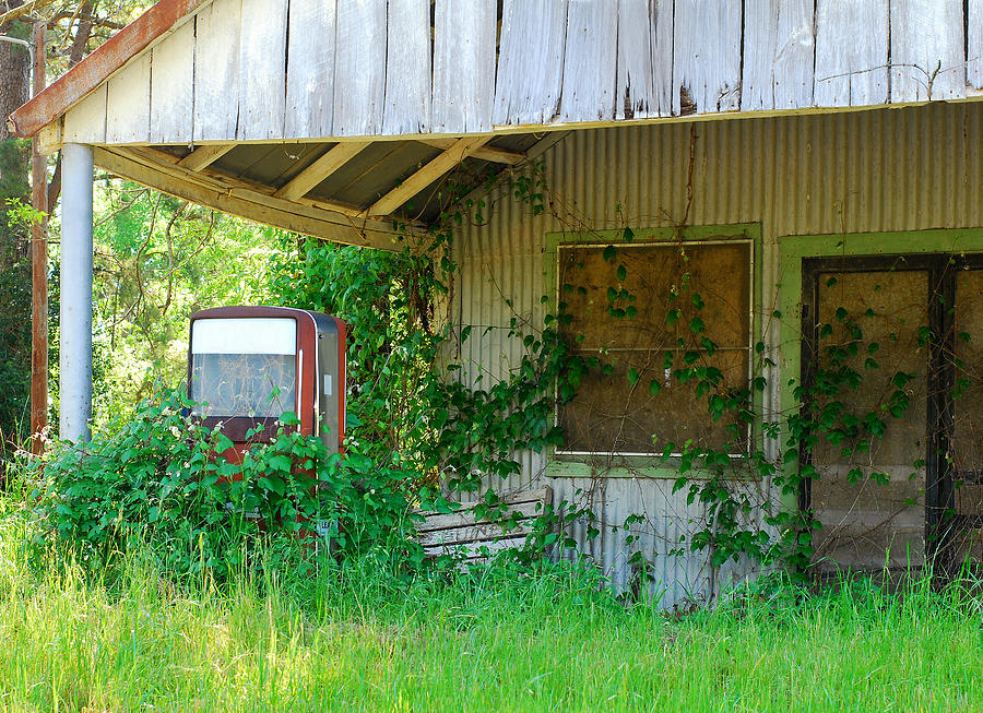 Out Of Business Photograph  - Out Of Business Fine Art Print