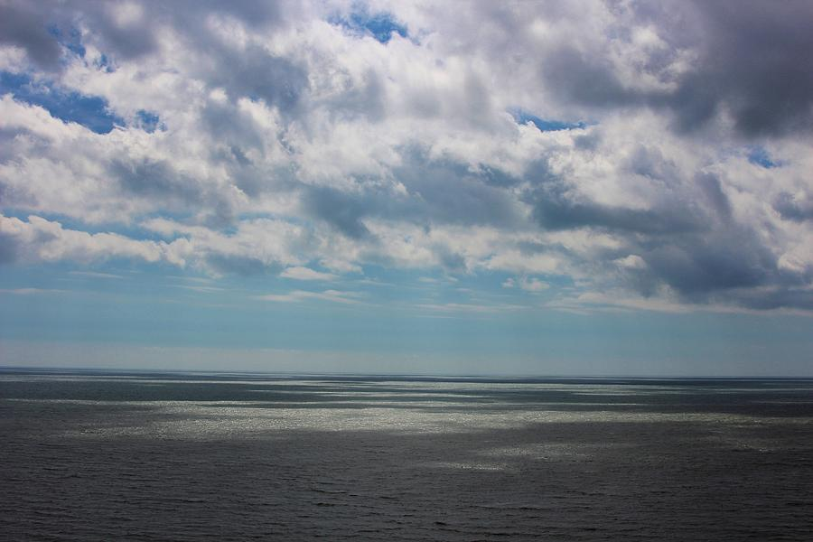 Landscape Photograph - Out To Sea by Theresa Selley