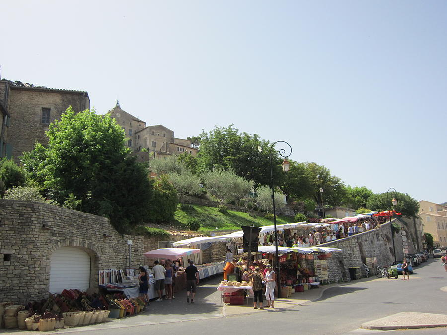 Outdoor Village Market Photograph