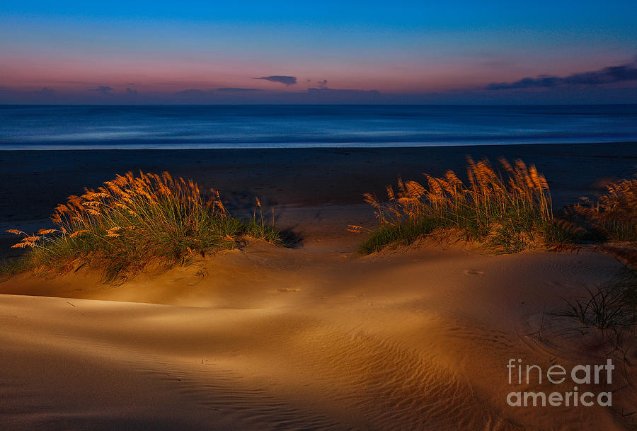 Outer Banks - Before Sunrise On Pea Island I Photograph  - Outer Banks - Before Sunrise On Pea Island I Fine Art Print