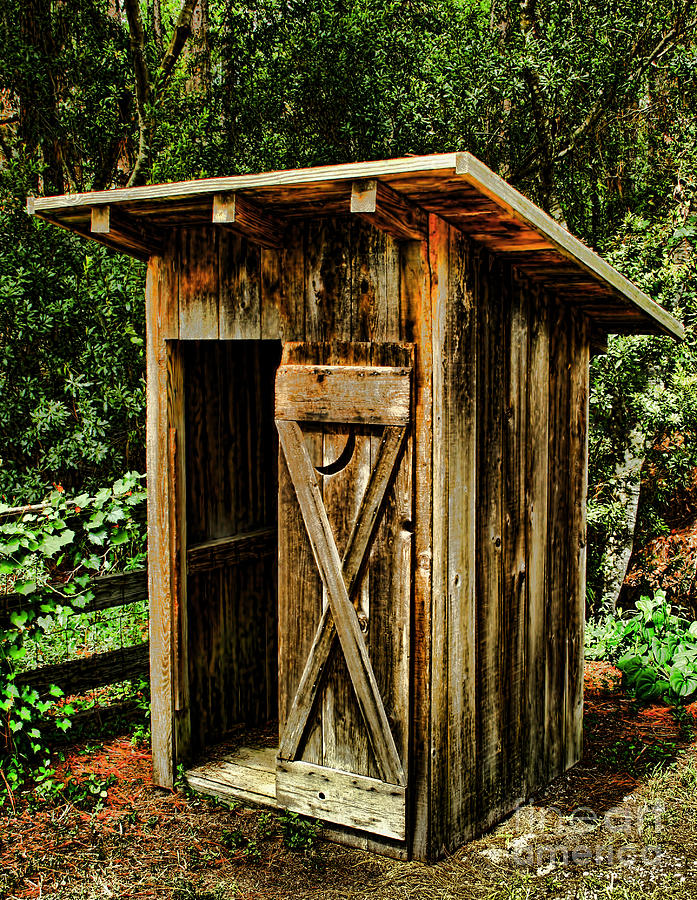Outhouse photograph by dave bosse for Outhouse pictures